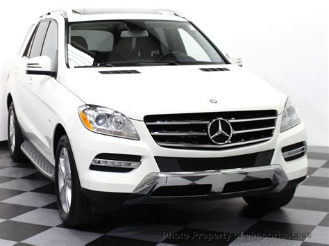 Every used car for sale comes with a free carfax report. 2012 Used Mercedes-Benz M-Class CERTIFIED ML350 BlueTEC ...