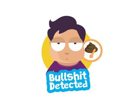 emoji bullshit detected dribbble detector collection