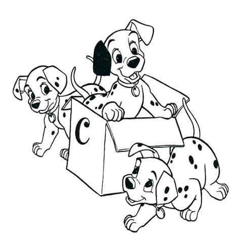 dalmatian dog coloring page  getcoloringscom