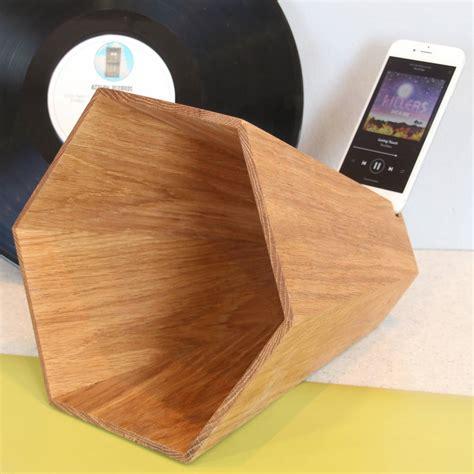 wooden speaker   phone  james design