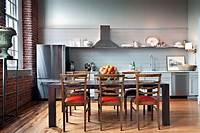 one wall kitchen Most Popular Kitchen Layout and Floor Plan Ideas