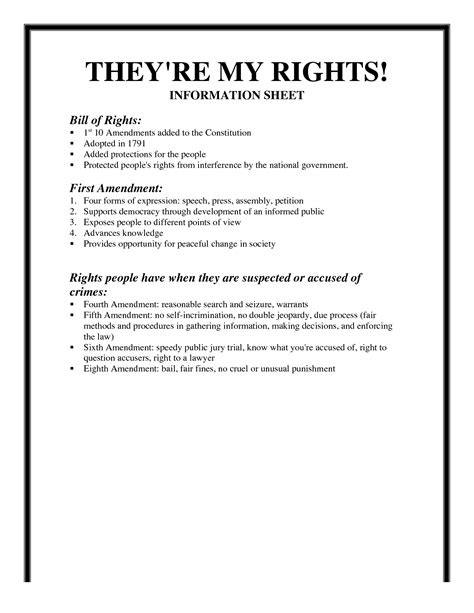 bill of rights text printable ezzy