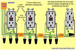 3 Wire Gfci Circuit Diagram