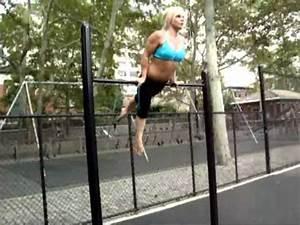 Krisztina Sereny workout in nov 2010. | Doovi
