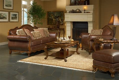 Brown Furniture Living Room Ideas by Leather Living Room Furniture 171 3d 3d News 3ds Max