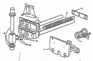 Craftsman Woodworkers Vise Parts