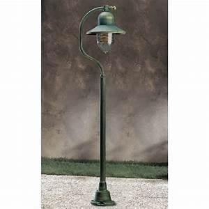 garden light porto 90 lamp post green gold 94054 so free With lamp post light indoor