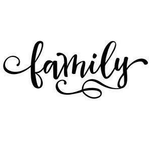 Family  Calligraphy  Hand Lettering ️ Pinterest