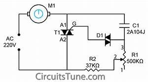 Ceiling Fan Regulator Circuit