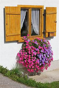 flower boxes for windows 40 Window and Balcony Flower Box Ideas (PHOTOS)