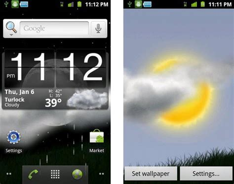 weather window  wallpaper  android phones latest