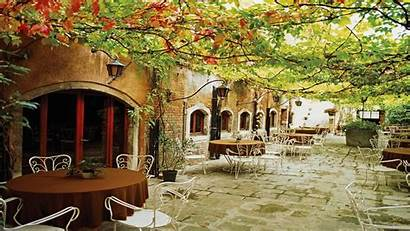 Italy Desktop Wallpapers Outdoor Europe Cafe Villa