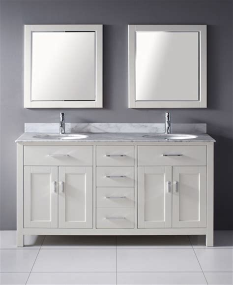 63 Inch Asta Vanity   White Sink Vanity   Espresso Sink Vanity
