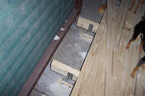 wooden plans build wood deck concrete patio pdf