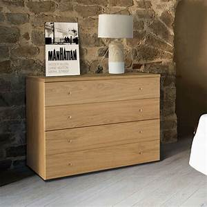 Commode design chambre adulte 4 tiroirs brin d39ouest for Meuble disign chambre