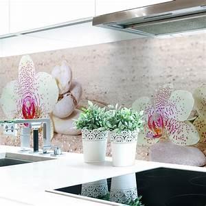 Küchenrückwand Hart Pvc : k chenr ckwand orchideen wei premium hart pvc 0 4 mm selbstklebend ebay ~ Orissabook.com Haus und Dekorationen