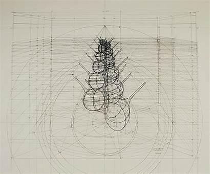 Drawing Drawings Pencil Rafael Araujo Architectural 3d