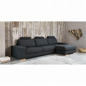 Tapis En Coton : tapis en coton gris 200 x 290 cm feel maisons du monde ~ Nature-et-papiers.com Idées de Décoration