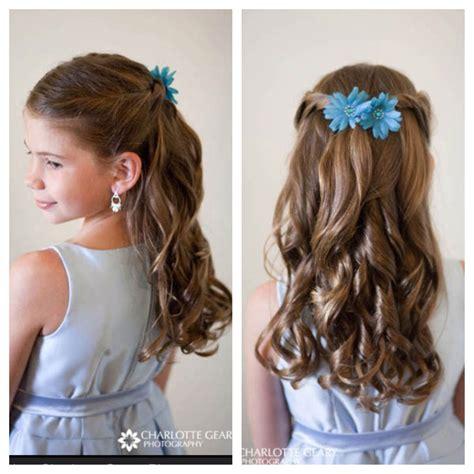 hair    flower girls kommunion kommunion