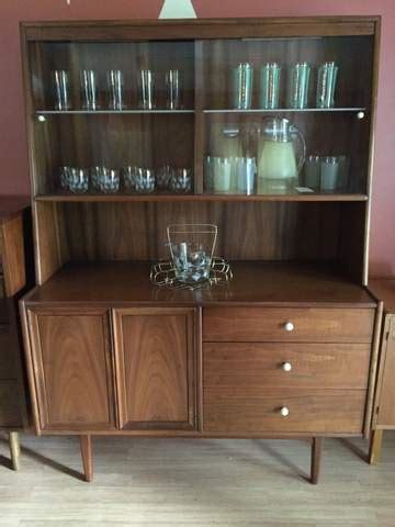 mid century china cabinet declaration  drexel epoch