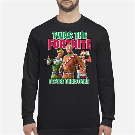 twas  fortnite  christmas sweater hoodie tank