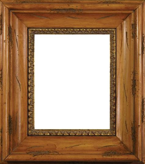 Holz Bilderrahmen by Distressed Pine Wood Frame
