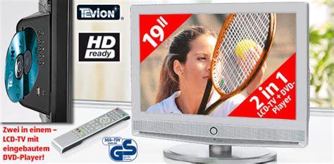 tv mit dvd tevion lcd tv mit dvd player bei aldi s 252 d audio foto bild