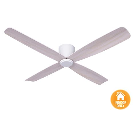 beacon lighting airfusion fraser to ceiling low profile dc fan only in white with white