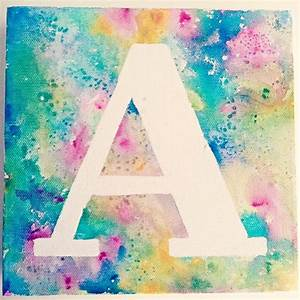 gifts kids can make 15 quick easy sibling gift ideas With masking letters for painting