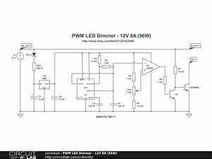 Led Dimmer Schaltung : pwm led dimmer 12v 8a 96w circuitlab ~ Eleganceandgraceweddings.com Haus und Dekorationen