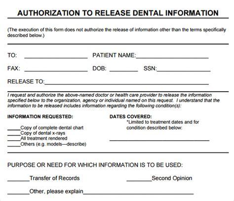 release of mental health records form dental records release form template dental records