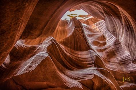 Antelope Slot Canyon Skyward