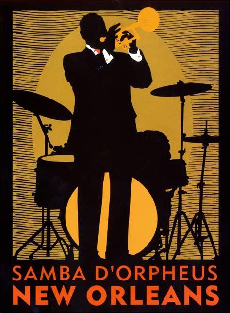 New Orleans Louisiana Samba Vintage United States Travel Advertisement Poster Ebay