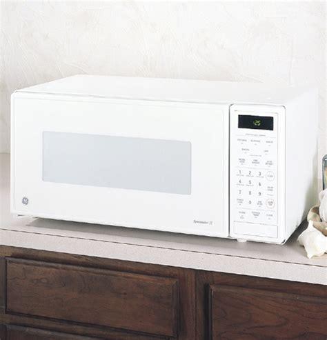 ge spacemaker ii  cu ft capacity  watt microwave oven jemwy ge appliances