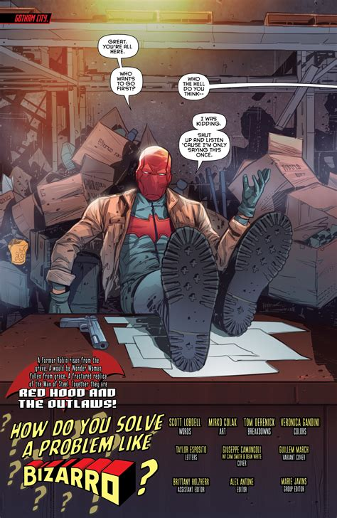 exclusive preview red hood   outlaws  freaksugar