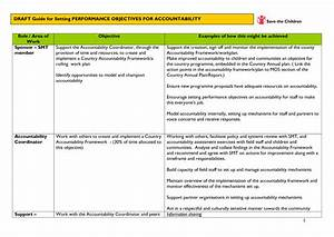 examples of performance objectives pictures to pin on With performance objective template