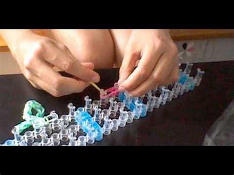 comment faire un bracelet 233 lastique avec la machine droite