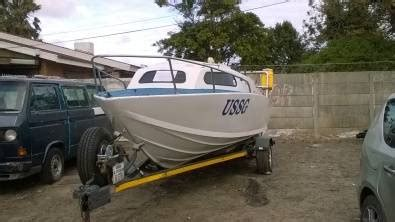 Small Boat Trailer For Sale Western Cape by 5 Foot Boat With 2x90hp Motors Boats 42756483 Junk