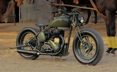 1942 Bsa M-20 500cc Ww-ii Army Model. Cool Old Motorcycle