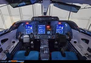 Piaggio Avanti P180 Cockpit Interior