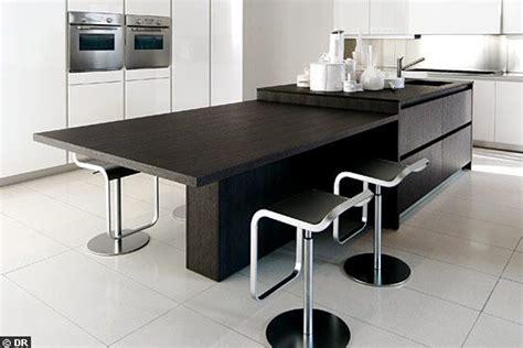 table cuisine moderne design cuisine moderne design avec ilot ventes chaudes bois
