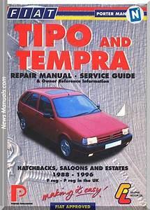 Fiat 42 Tipo Tempra Repair Manual 1988 1996