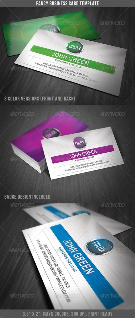 fancy business card template  images business card