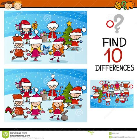 best educational cartoons for preschoolers differences task for stock vector image 61023705 328