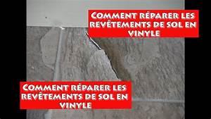 Comment Nettoyer Sol Lino Incrusté : reparer le rev tement de vinyle youtube ~ Melissatoandfro.com Idées de Décoration