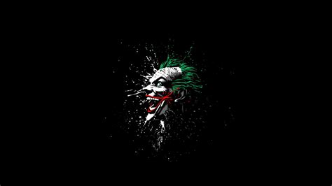 joker batman comics black artwork green red white
