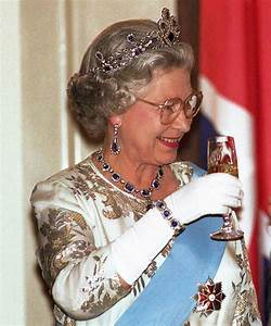 Queen Elizabeth Finishes Every Day with a Glass of