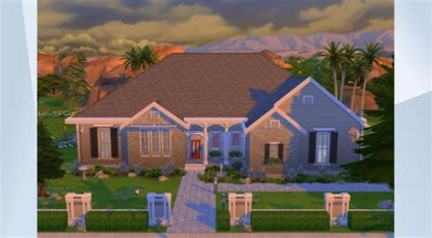 Ranch du feuillard on facebook. Check out this lot in The Sims 4 Gallery!   Sims 4, Sims, Ranch house
