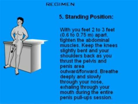 Instructions for Kegel Exercises Build PC Muscle for Men