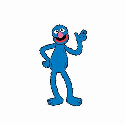 Grover Sesame Street Clipart Cliparts Clip Characters